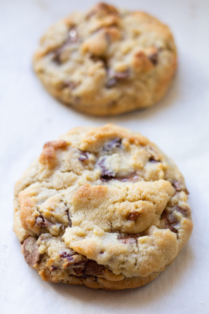 Small Batch Levain Bakery Chocolate Chip Cookies