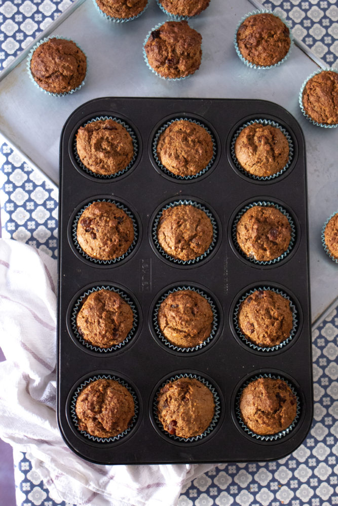 Homemade Bran Muffins