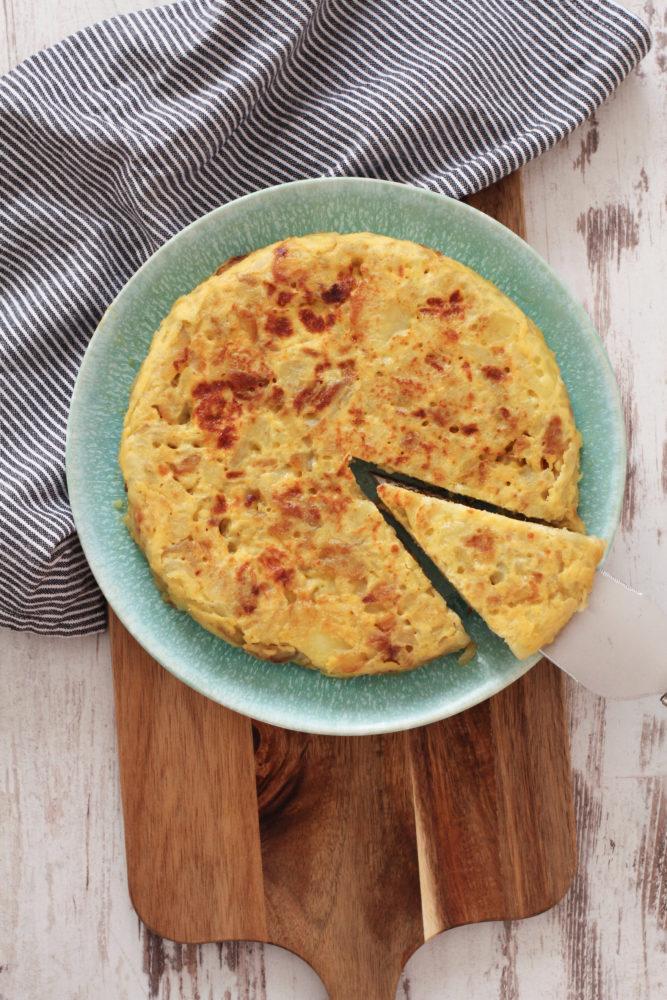 Authentic Spanish Omelette (Tortilla Espanola)