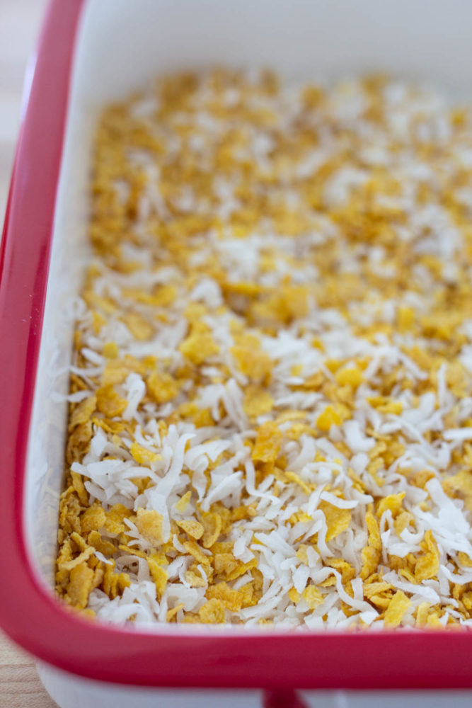 Coconut and Cereal topping
