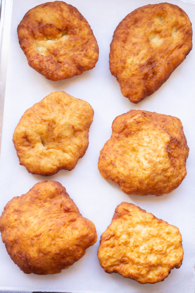 Indian Fry Bread made without yeast