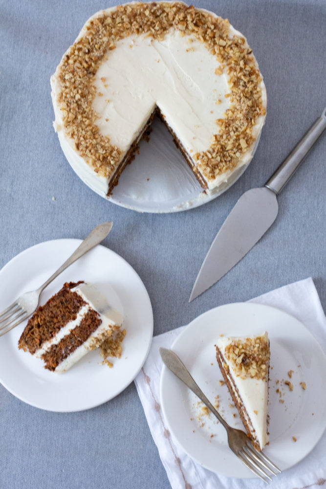 carrot cake to feed 20