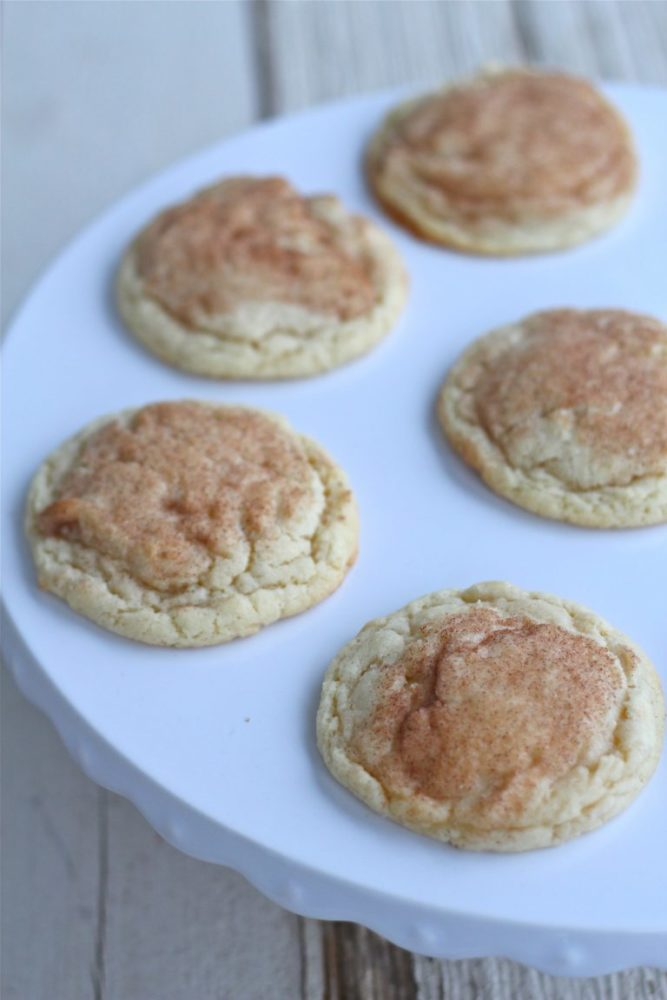 All Butter Snickerdoodle Cookies