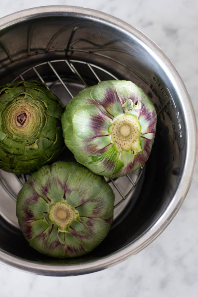 How to Cook Artichokes in the Instant Pot