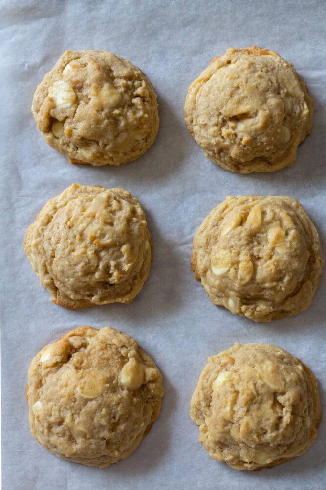 The Best White Chocolate Chip Cookies