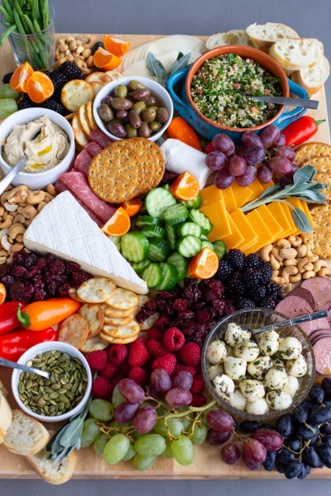 Charcuterie Board for Mom How to make