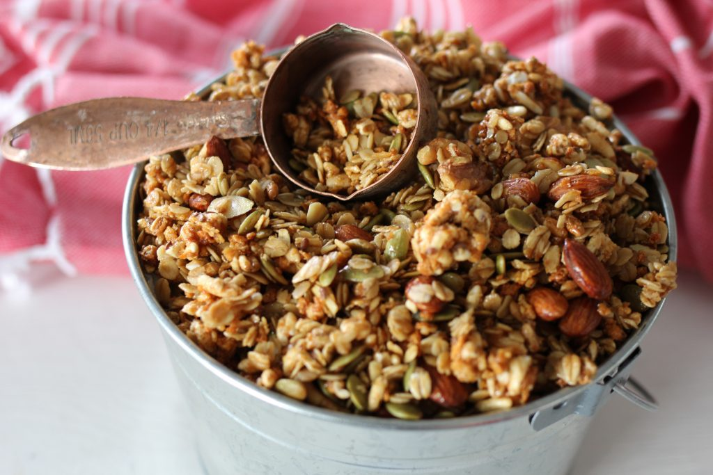 Homemade Granola Mother's Day gift