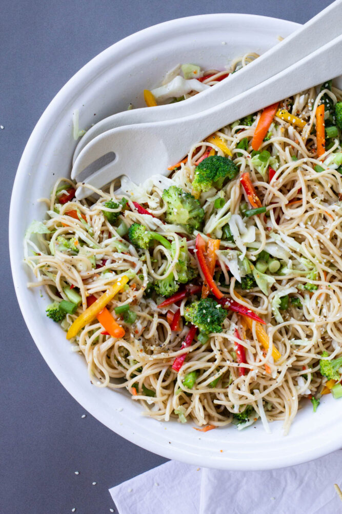 Ramen Salad recipe