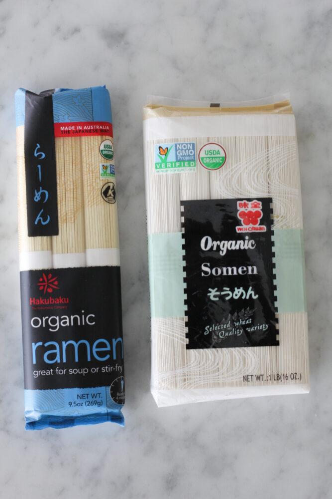 Ramen for homemade ramen soup