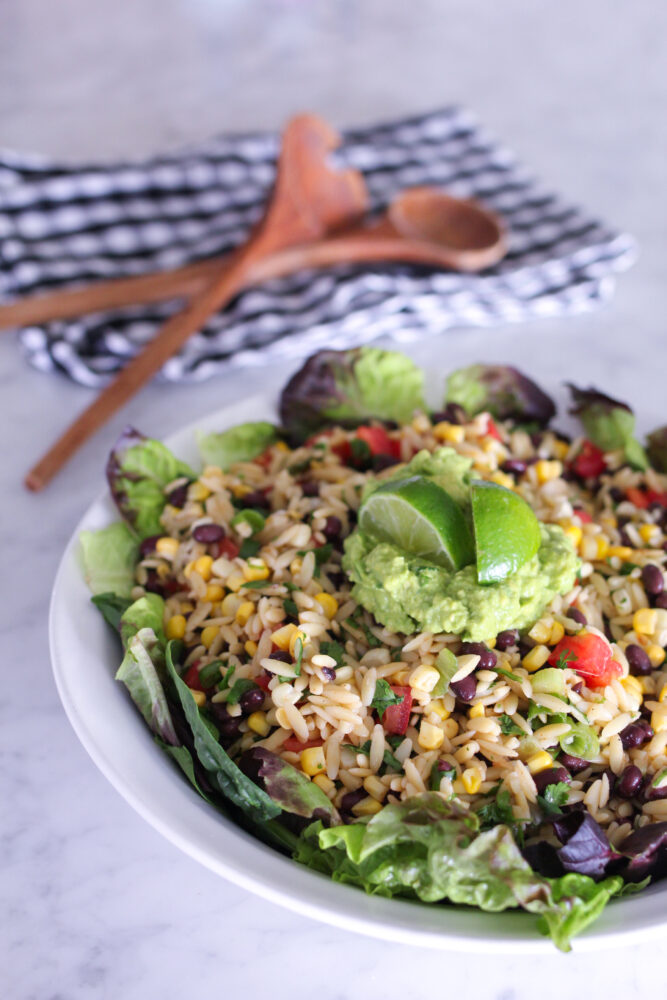 Southwest Orzo and Black Bean Salad