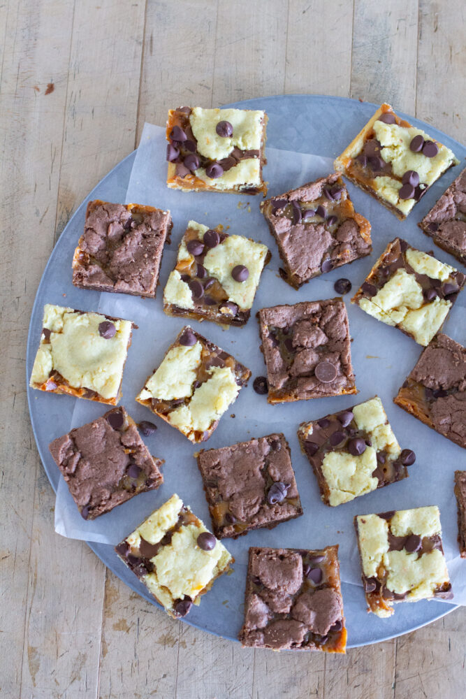 Quick and Easy Caramel Brownies