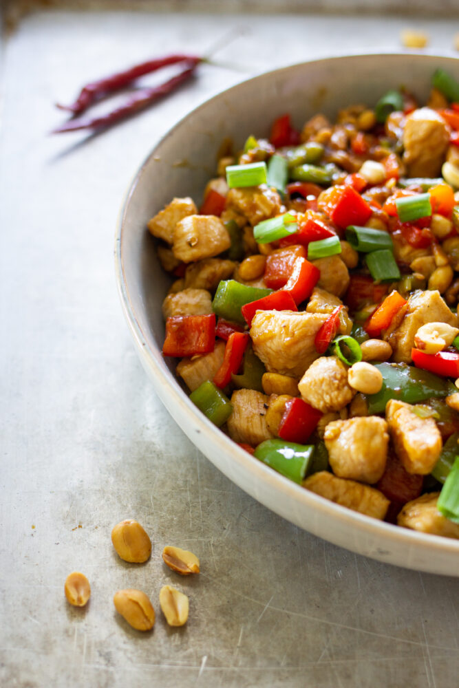 Chinese Kung Pow (Pao) Chicken