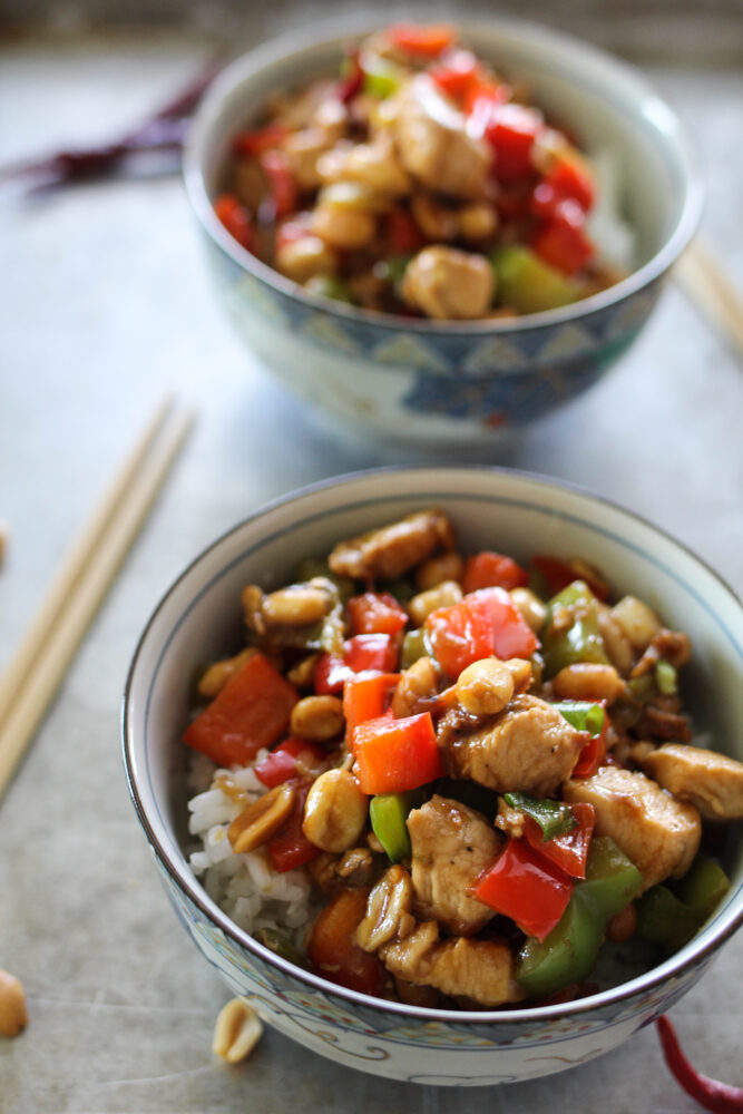 Better than Takeout Kung Pao Chicken