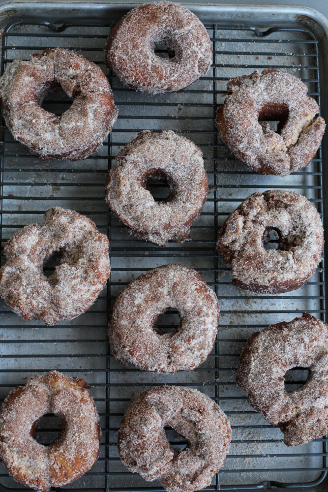 Apple Cider Cake Donuts