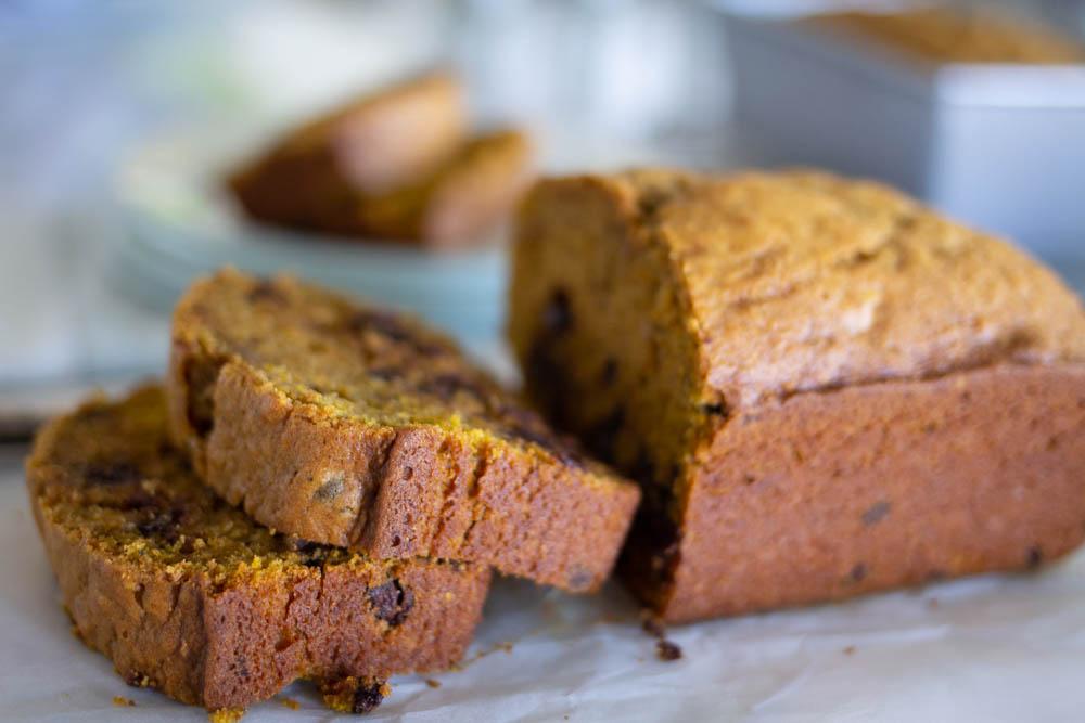 Great Harvest Pumpkin Chocolate Chip Bread recipe