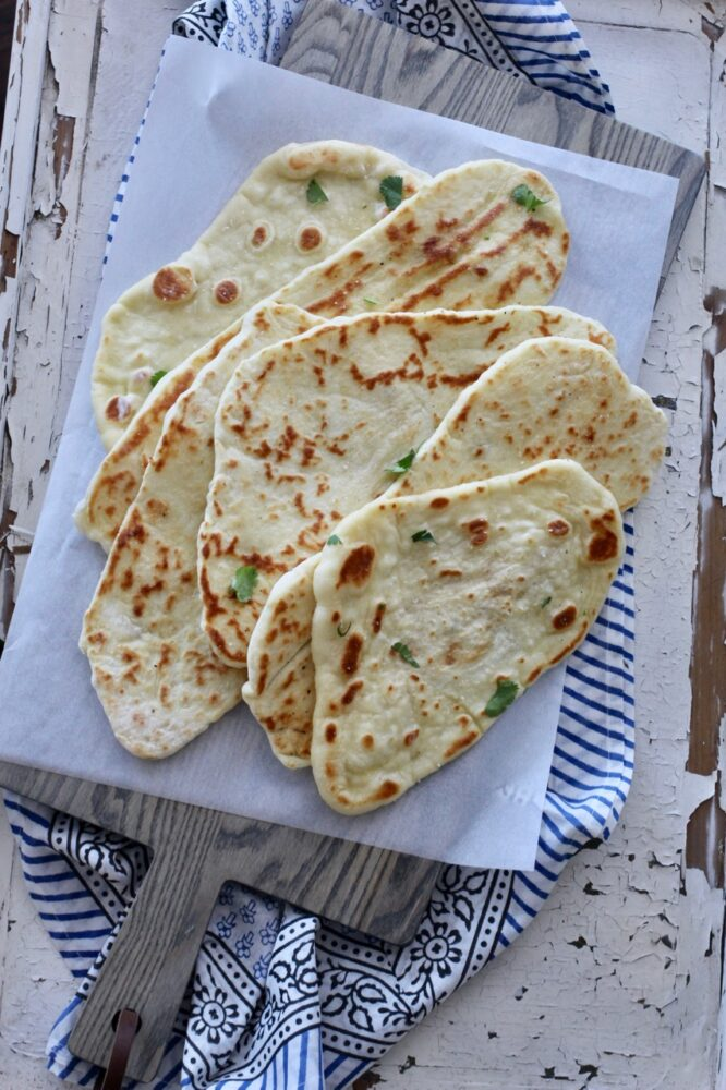 Easy to make Naan